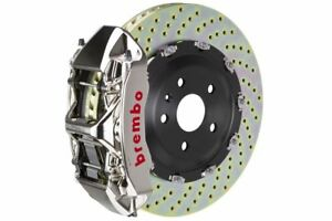 Brembo Gt r Big Brake Kit Front 380mm 2 Pc Drilled 6 Piston Rs5 B8 2013