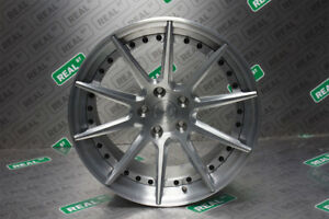 Bc Forged Wheels Hcs04s 18x9 5 Gloss Brushed Clear 93 98 Supra Jza80 Front Pair