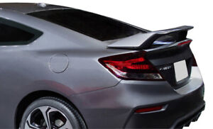 Factory Si Style 2 Post Painted Rear Spoiler Fits 2012 2015 Honda Civic Si Coupe