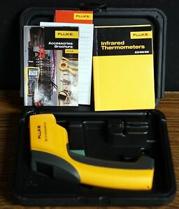 Fluke 63 Ir Infrared Thermometer Free Fast Shipping