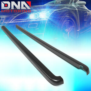 For 1996 2004 Toyota Tacoma 6ft Bed Satin Black Truck Rail Cover Caps Molding