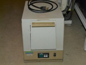 General Signal Lindberg Model 51848 Laboratory Box Furnace Oven
