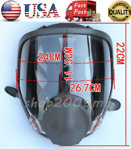 Large Size Full Face Gas Mask For 6800 Painting Spraying Facepiece Respirator