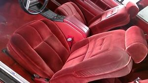 83 Ford Thunderbird Heritage Complete Power Seat Set Front And Rear