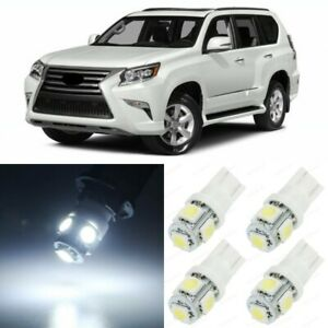 16 X Xenon White Interior Led Lights Package For 2010 2017 Lexus Gx460 Tool