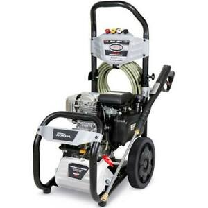 New Simpson Ms60920 3200 Psi 2 5 Gpm Gas Pressure Washer Powered By Honda Gc190