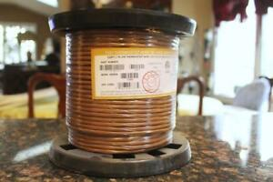 Syston 250 Ft 18 5 Sol Unshld Clr2 7337 Thermostat Wire Brown New Sealed
