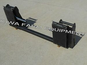 Koyker Quick Attach Or Pin on Loader To Skid Steer Quick Attach Adapter