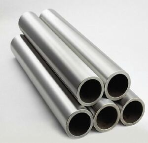 1x Titanium Grade 2 Gr 2 Tube Tubing Od 20mm X 16mm Id Wall 2mm Length 800mm