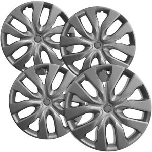 Hubcaps Fits Nissan Rogue Pack Of 4 Wheel Covers 15 Inch 10 Spoke Snap On