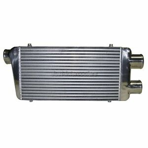 Cxracing Fmic Twin Turbo Intercooler Two 3 Inlets One 3 Outlet