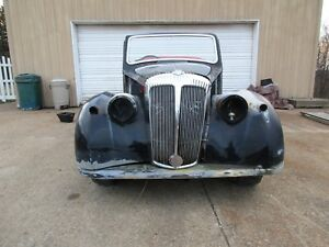 1951 English Daimler Vintage Car Body Frame Hot Street Rat Rod Custom No Grille