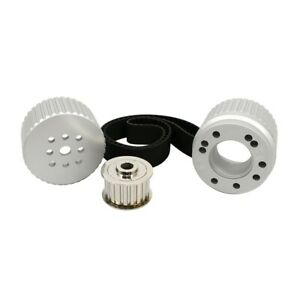 Sbf Small Block Ford Billet Aluminum Gilmer Belt Drive Pulley Kit 289 302 351w