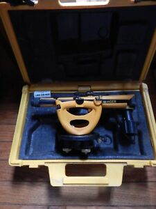 Berger Instruments 200b Level And Transit Surveying Scope In Case