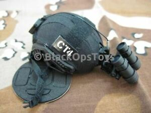 16 Scale Josh Russell Customs MICH 2001 Helmet Black Cover w NVG