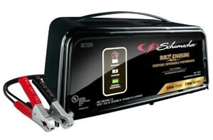 Schumacher Sc1320 Automatic Handheld Battery Charger 2 6 Amp