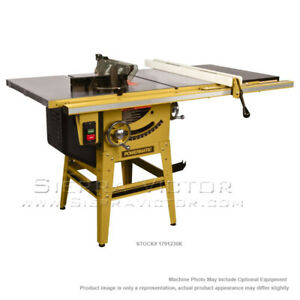 10 Powermatic 64b Table Saw With 50 Fence With Riving Knife