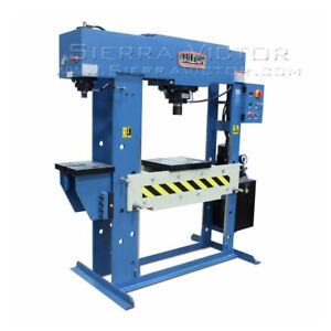 Baileigh Two Station Hydraulic Press Hsp 60m c