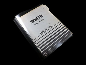 White 1355 Tractor Parts Catalog 433 199 5 74 Manual