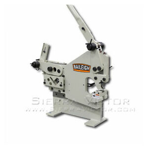 Baileigh Manual Iron Worker With Punch Sw 22m p