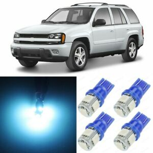 13 X Ice Blue Interior Led Lights Package For 2002 2009 Chevy Trailblazer Tool