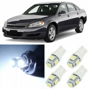 15 X White Interior Led Lights Package For 2006 2013 Chevy Chevrolet Impala