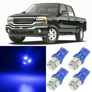 16 X Ultra Blue Interior Led Lights Package For 1999 2006 Gmc Sierra Tool
