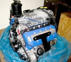 2005 2006 Ford Gt Gt40 Supercar Crate Engine 5 4 Dohc Supercharge Dry Sump 05 06