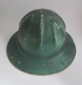 Vintage B f Mcdonald Los Angeles Safety Hard Hat Mining Miner Logging Union
