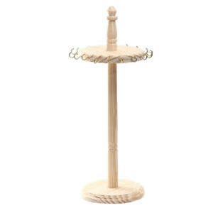 Jewelry Bracelet Necklace Earring Ring Display Stand Organizer Holder Wooden