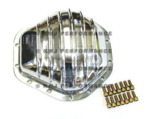 73 95 Chevy Truck 14 Bolt Polished Aluminum Differential Cover 3 4 Ton C K 2500