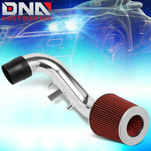 For 2002 2006 Acura Rsx 2 0l High Flow Short Ram Air Intake System Red Filter