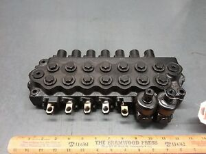 New Altec Hydraulic 7 Spool Control Valve 970065944