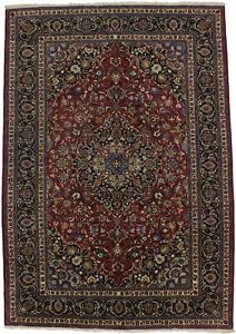 Great Shape Plush Unique Traditional Red Persian Rug Oriental Carpet 6 7x9 6