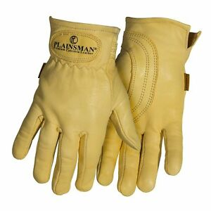 6 Pairs Plainsman Goatskin Leather Wholesale Work Gloves Large New Free Ship