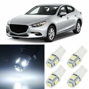 11 X Xenon White Interior Led Lights Package For 2014 2018 Mazda 3 tool