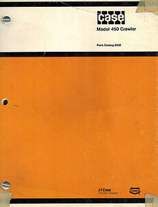 Case 450 Crawler Parts Manual new D930