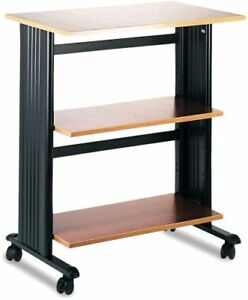 Safco Printer Stand 35 Height X 29 5 Width X 20 Depth Steel 1881cy