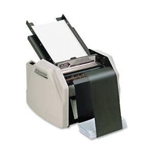 Martin Yale Automatic Paper Folder 7500 Sheets hour Z Fold 1501x