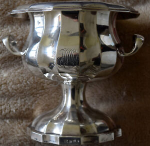 Antique 1858 Antip Kuzmichev Russia St Petersburg 84 Silver High Bowl Cup