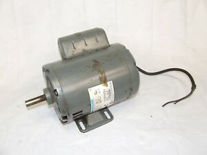 Electric Motor Ammco 2165 Marathon 1hp Brake Lathe Motor 4000 4100