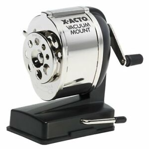 Elmer s Vacuum Mount Manual Pencil Sharpener Desktop 8 Hole s 5 3 X 5 5