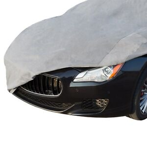 Car Cover Small Cars Elastic Hems And Grommets Fits Cars Up To 13 Feet Long