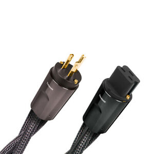 Audioquest Nrg Thunder High current 20 amp Ac Power Cable 2 Meters