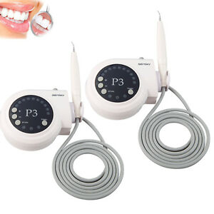 2 dental Ultrasonic Piezoelectric Scaler Fit Dte Satelec Scaling Endo Perio Polv