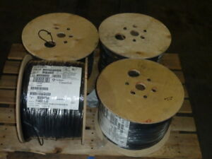 5 000 Ft New Southwire Copperfield 14 Gauge Awg 41 30 Tc 1015 Copper Wire Black