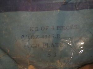 Nos Ford 9 Inch Traction Lock Lok Posi Centersection Clutch Plates Set 4pcs Nos
