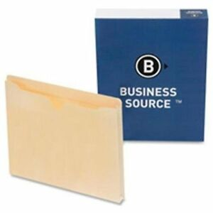 Business Source Flat File Pocket Letter 8 50 X 11 1 bsn65797