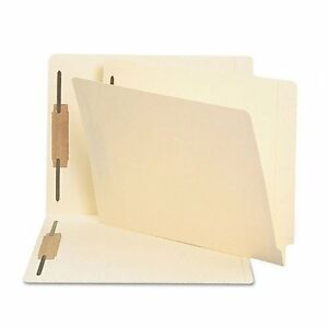 Smead End Tab Fastener File Folder 34125 Letter 8 5 X 11 Straight Tab