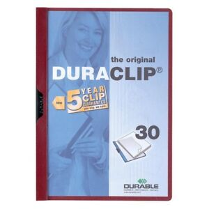 Durable Duraclip Report Cover Letter 8 5 X 11 30 Sheet 1 Each 2203mn